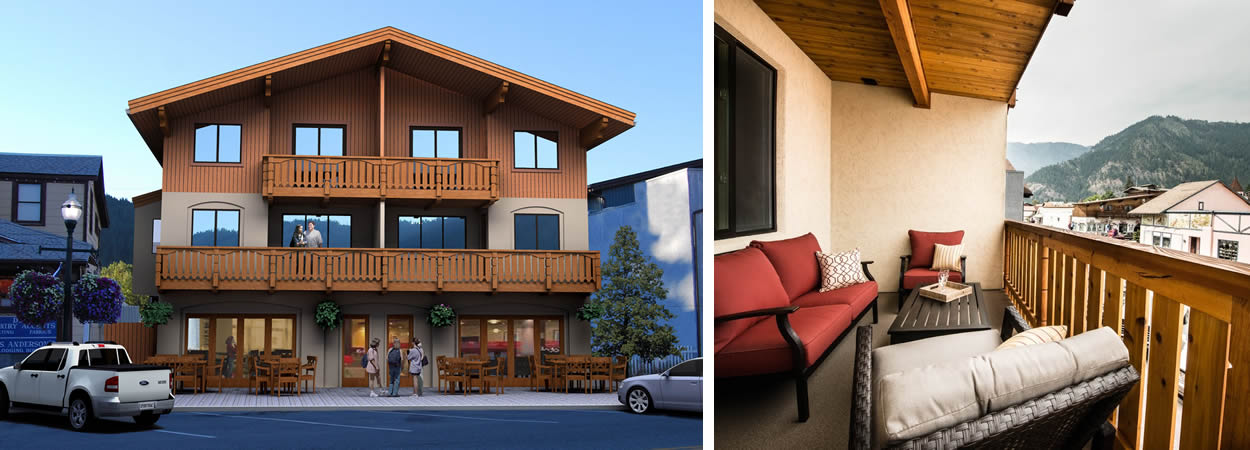 leavenworth wa townhomes - luxury lodging