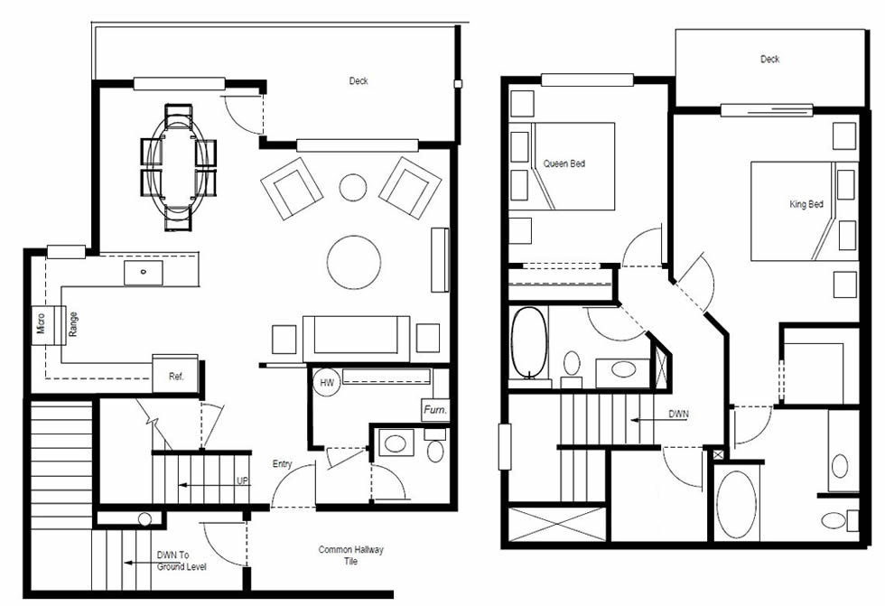 floor plans for leavenworth wa townhouse